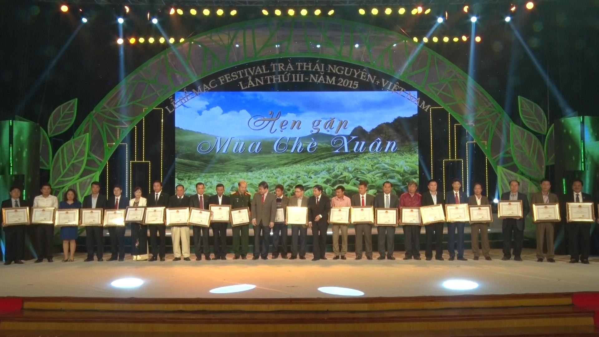 Bế mạc Festival Trà Thái Nguyên - Việt Nam lần thứ 3 năm 2015.