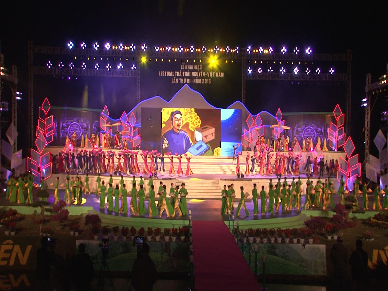Chương trình nghệ thuật khai mạc Festival Trà Thái Nguyên - Việt Nam lần thứ 3 năm 2015.