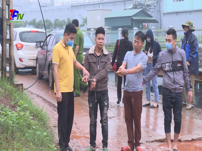 Công an thành phố Thái Nguyên: Khởi tố 2 đối tượng trộm trâu.