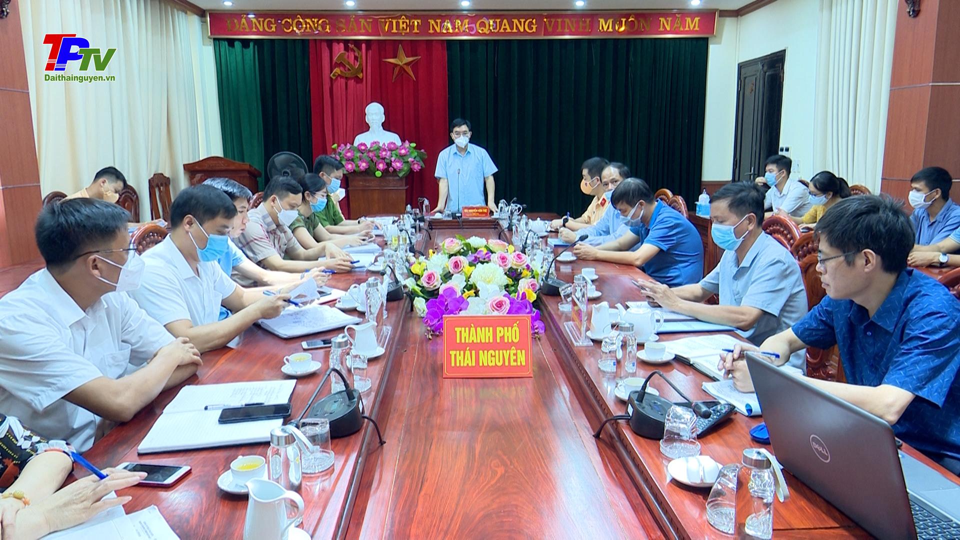 Thống nhất phương án phân luồng giao thông phục vụ thi công công trình: Xây dựng Nút giao khác cốt đường Thống Nhất và đường Việt Bắc