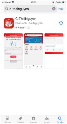Hướng dẫn cài đặt App C-ThaiNguyen (Ứng dụng công dân số Thái Nguyên)